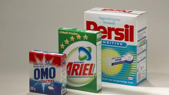 Materiali za pakiranje detergentov
