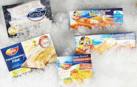 Materiali za pakiranje hladne in zamrznjene hrane